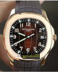 Patek Philippe Aquanaut 5167R-001 18k-Rose-Gold Dark Brown