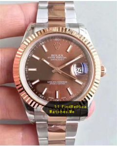 Rolex Datejust m126331-0001 41mm Chocolate Face Watch