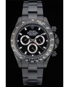 Rolex Daytona Black Steel 0828A