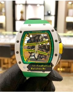 Richard Mille RM 61-01 White With Geen