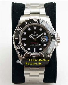 Rolex Sea Dweller 126600 Red Letter 43MM Black Ceramic Bezel Watch AR Factory