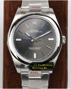Rolex Oyster m114300-0001 Gray Face 904L Steel