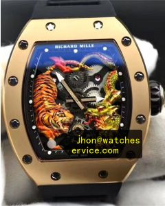 Richard Mille RM 57 Dragon Tiger Gold