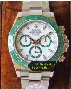 Rolex Daytona Green Bezel With Green Chronograph