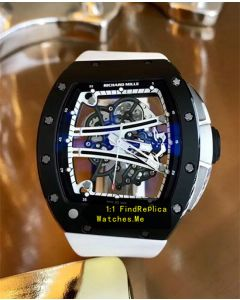 Richard Mille RM 61-01 Black With White Strap