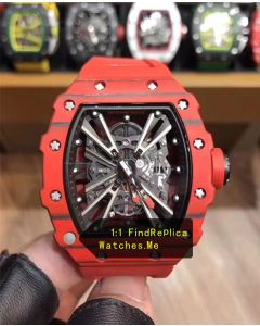Richard Mille RM 12-01 Red Quartz Fiber Watch