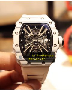 Richard Mille RM 12-01 White Quartz Fiber Watch