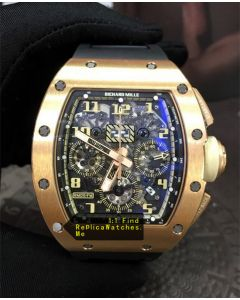 Richard Mille RM 011-FM Flyback Chronograph Golden Numbers And Pointers