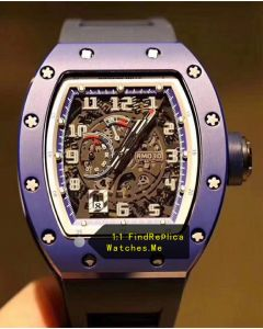 Richard Mille RM 030 Blue French Paris Limited Edition