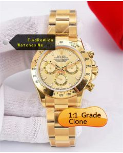Rolex Daytona 116508 40MM 18K-Gold Chronograph