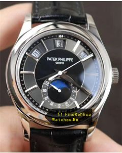 Patek Philippe Complex Timer 5205G Black Face 18k-White-GOLD Body