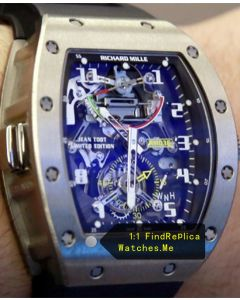 Richard Mille RM 036 G-Sensor With Black Rubber Strap Watch