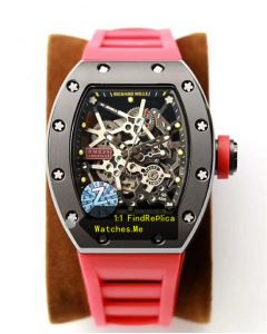 Richard Mille RM-035-Rafael Nadal Chronofiable With Red Strap