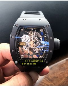 Richard Mille RM 035 Americas Black With 18K-Gold Side From H-maker Factory