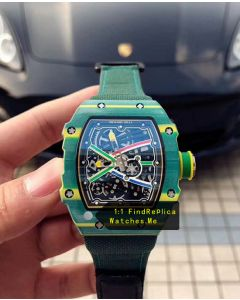 Richard Mille RM 67-02 Green Wayde van Niekerk Sports Watch