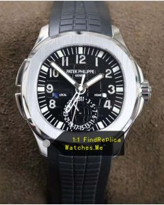 Patek Philippe Aquanaut 5164A 40.8MM Dual Time Zone Watch