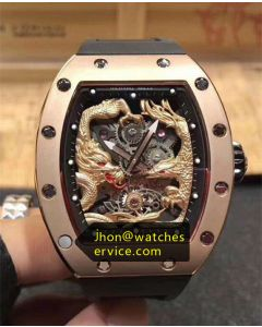 Richard Mille RM 57-01 Dragon Phoenix Gold