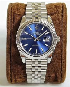 Rolex Datejust 126334 41MM Blue Face Oyster Steel