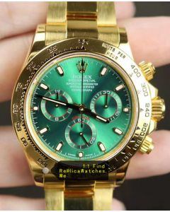 Rolex Daytona 116508 40MM Green Face