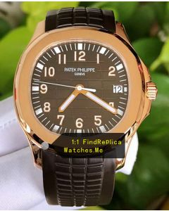 Patek Philippe Aquanaut 5167R 40MM 18k-Gold Watch