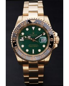Rolex Gmt-Master Green Gold Coating rl169