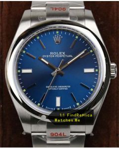 Rolex Oyster m114300-0003 39MM Navy Blue N-Factory