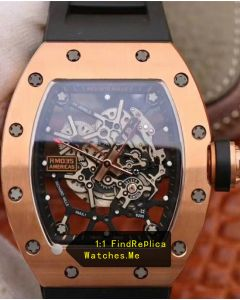 Richard Mille RM 035 Gold Toro Matte From H-maker Factory