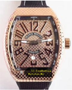 Franck Muller Vanguard V45 Rose Gold 44MM Iron PXL