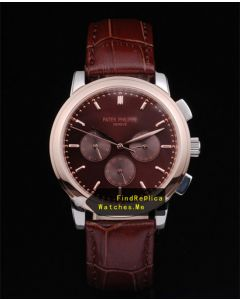 Patek Philippe 38MM Dark Brown Super Complex Timer DB1814