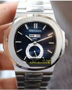 Patek Philippe Nautilus 5726 Blue Face Moon Phase Watch