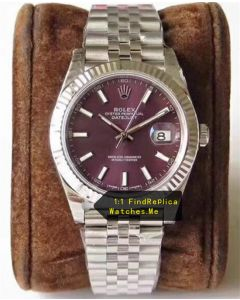 Rolex Datejust 126334 41MM Purple Face Oyster Steel