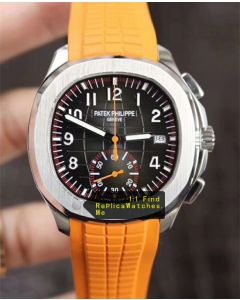 Patek Philippe Aquanaut 5968A-001 42.2MM Yellow Strap