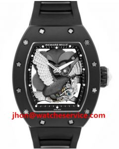 White Gold Eagle Richard Mille RM 59-02 Ceramic Watch