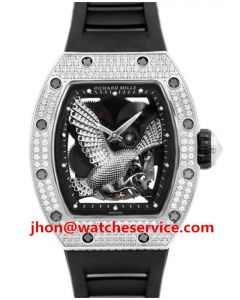 Diamonds Richard Mille RM 59-02 Eagle Ceramic Watch