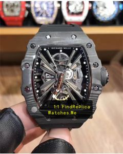 Richard Mille RM 12-01 All Black Carbon Fiber Watch