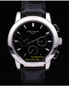 Patek Philippe 5004P 38MM Super Complex Timer Black Dial