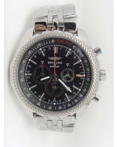 Black Steel Breitling Bentley Speed 49mm