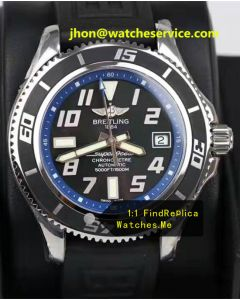 Breitling Superocean 42MM Blue Ring Steel A1736402-03C