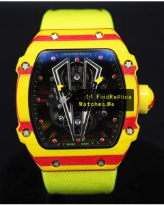 Richard Mille RM 27-03 TPT Quartz Fiber Yellow Watch