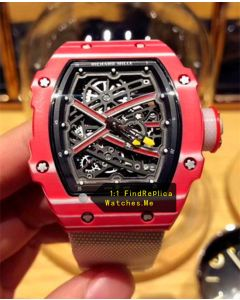 Richard Mille RM 67-02 Pink Sports Watch