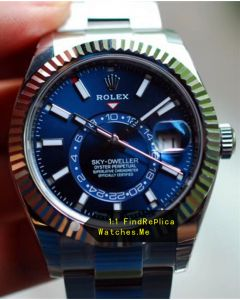 Rolex Sky-Dweller-m326934-0003 Blue Face