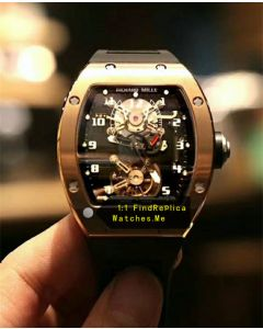 Richard Mille RM 001 18k-Gold True Tourbillon Watch