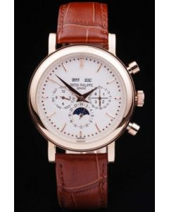 38MM Patek Philippe Grand Complications Rose Gold
