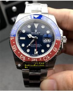 Rolex GMT Master 116719 Blue Face Red Blue Bezel